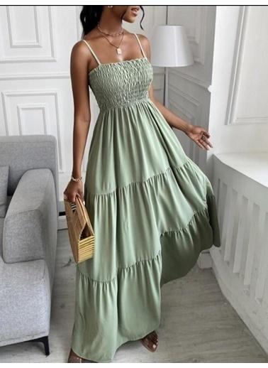 BLACK&GRACE Elbise Yeşil